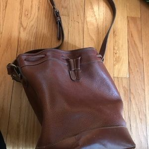 Coach brown leather hobo bag.  Great condition